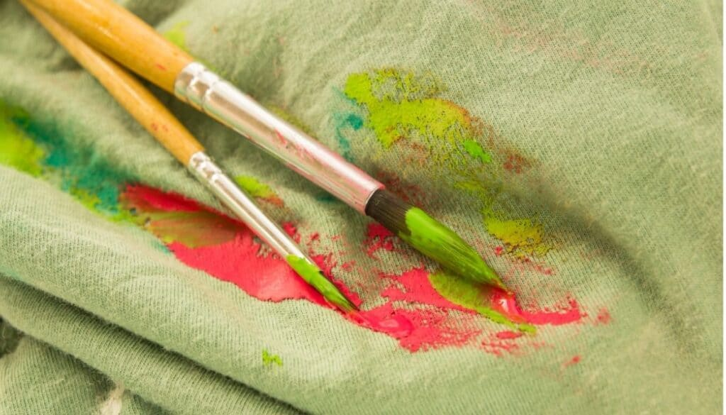 How to turn acrylic paint into fabric paint without a fabric medium?