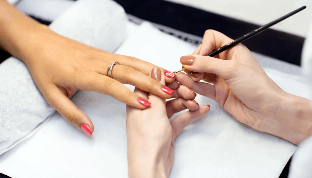 Can you use acrylic paint as nail polish?