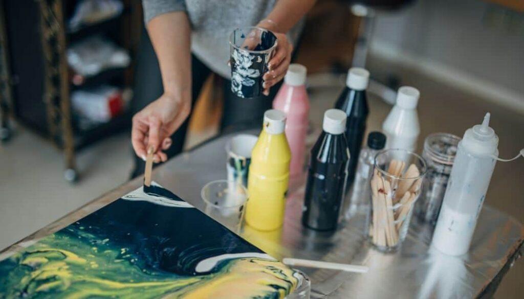 Is acrylic paint waterproof?