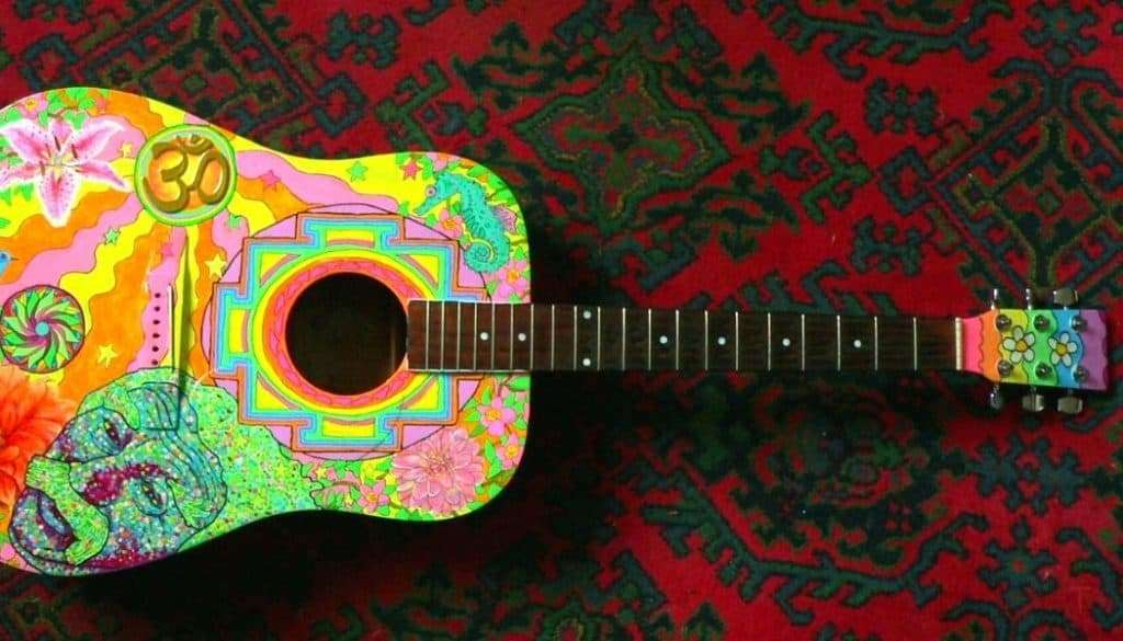 How To Paint a Guitar With Acrylic Paint