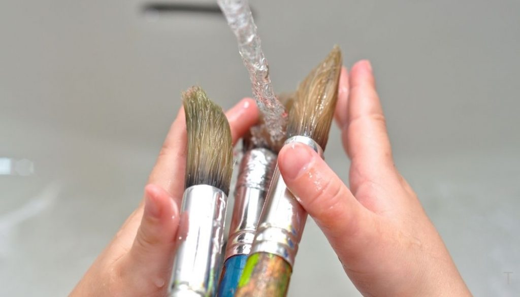 Can You Wash Acrylic Paint Brushes in the Sink?