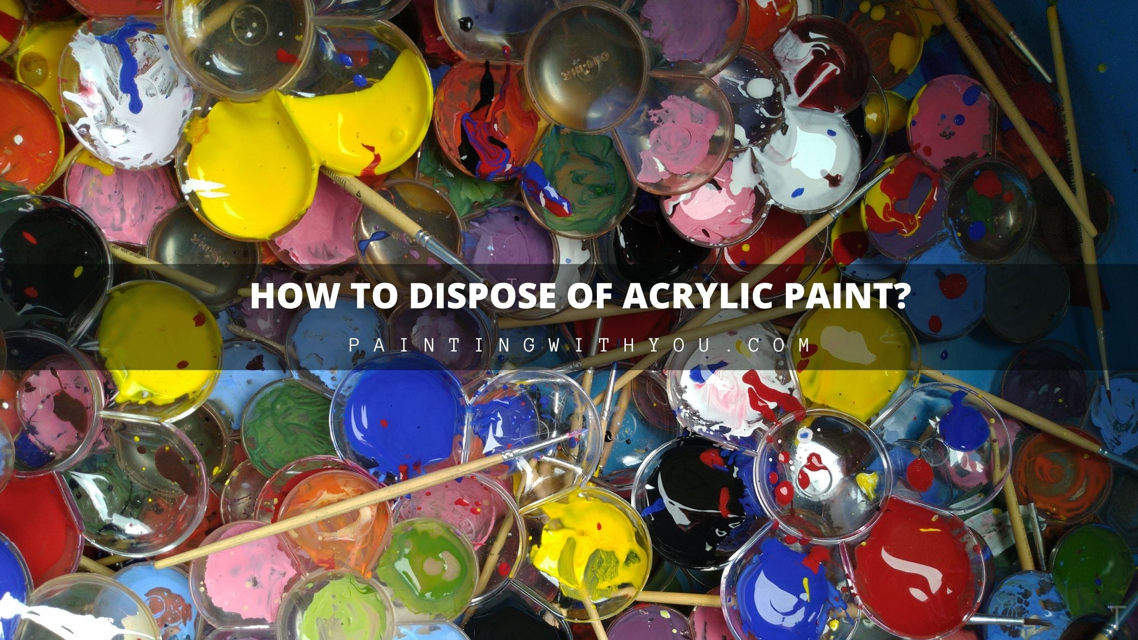 How To Dispose my Acrylic Paints